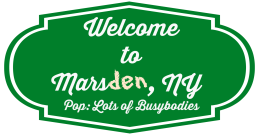 Marsden sign
