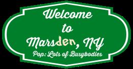 Marsden sign